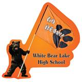 Custom Bear Mascot Wall Sticker