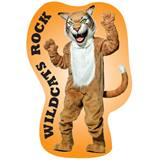 Custom Tan Wildcat Mascot Wall Sticker