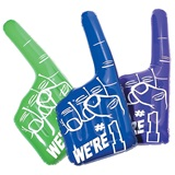 We're # 1 Inflatable Hand