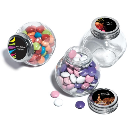 Full-color Candy Jars