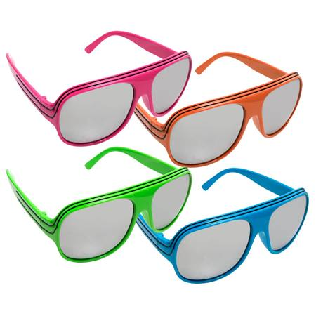 Retro Neon Sunglasses