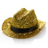 Mini Gold Glitter Hat