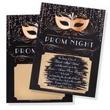 Scratch-off Invitation - Gold Mask