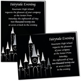 Custom Full-color 5x7 Invitation - Fancy Castle