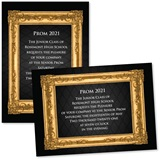 Custom Full-color 5x7 Invitation - Gold Frame