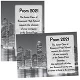 Custom Full-color 5x7 Invitation - NYC Skyline