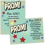 5x7 Invitation - Prom! Comic Stars