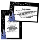 Enchanted Castle 4 x 6 Invitations