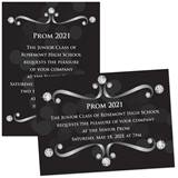Diamond Scrolls 4 x 6 Invitations