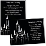 Fancy Castle 4x6 Invitations