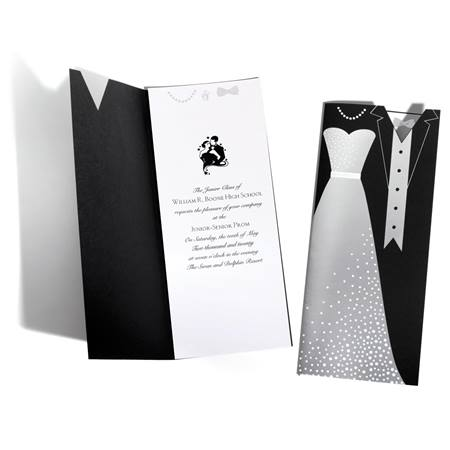 Gown and Tux Invitation