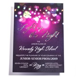Night Lights Invitation