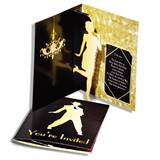 Pop-up Prom Invitation - Golden 1920's