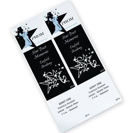 Dancing Couple Ticket