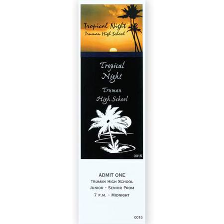 Tropical Palms Ticket