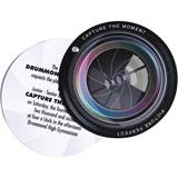 Camera Lens Flip-Open Invitation