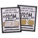 Scratch off Invitation - One Night Only Ticket