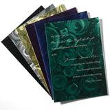 Bubble Foil Invitation
