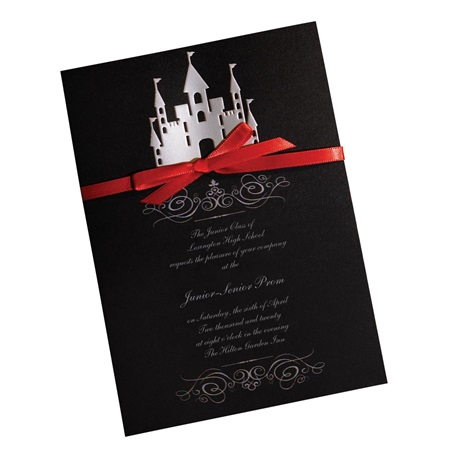 Fairy Tale Castle Invitation
