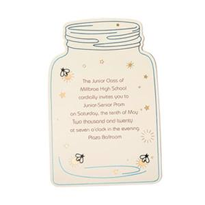 Mason Jar Invitation