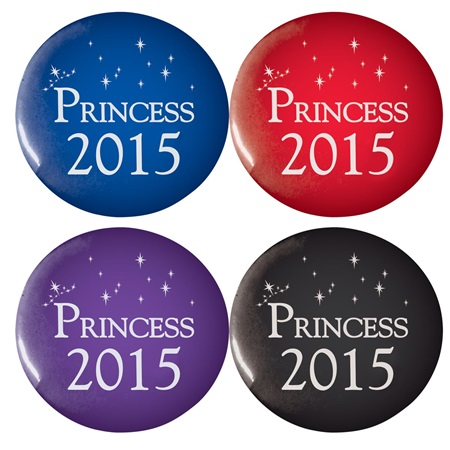Princess 2015 Button