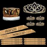 Golden Glory Prom Coronation Set