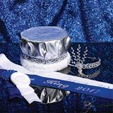 Silver Sophistication Prom Royalty Set Without Scepters