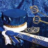 Gold Prom Dreams Royalty Set With Scepters