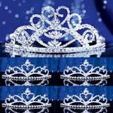 Prom Tiara Set - Guinevere Queen and Alisa Court