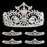 Prom Tiara Set - Elsa Queen and Cleo Court