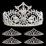 Prom Tiara Set - Elsa Queen and Karen Court