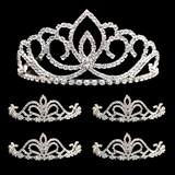 Prom Tiara Set - Sasha Queen and Arilda Court