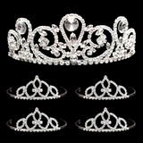 Prom Tiara Set - Esmeralda Queen and Francine Court