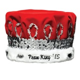 Prom King Crown With Silver Band