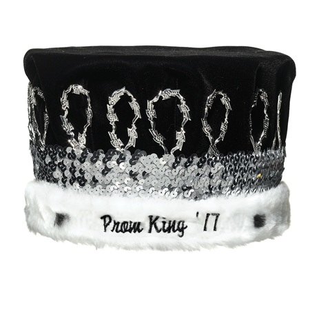 Prom King '16 Crown With Silver Band