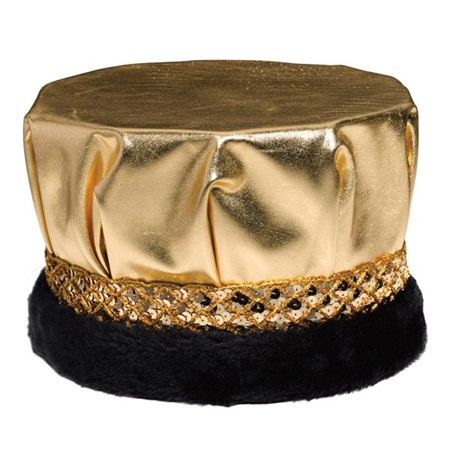 Metallic Gold Men's Crown