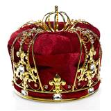 Reign Supreme Men's Crown - Red