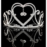 Belle Tiara with Charm