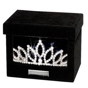 Velvet Tiara Box - Queen 2015