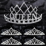 Prom Tiara Set - Empress Queen and Karen Court