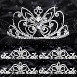 Prom Tiara Set - Monarch Queen and Arilda Court