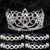 Prom Tiara Set - Sasha Queen and Ariel Court
