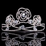 Rose Metal Rose Tiara
