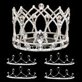 Prom Tiara Set - Andrina Queen and Ophelia Court