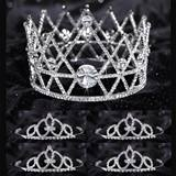Prom Tiara Set - Anastasia Queen and Francine Court