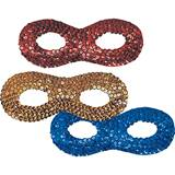 Sequin Domino Eye Mask