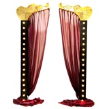 Opening Number Lit Half Arches Kit (set of 2)